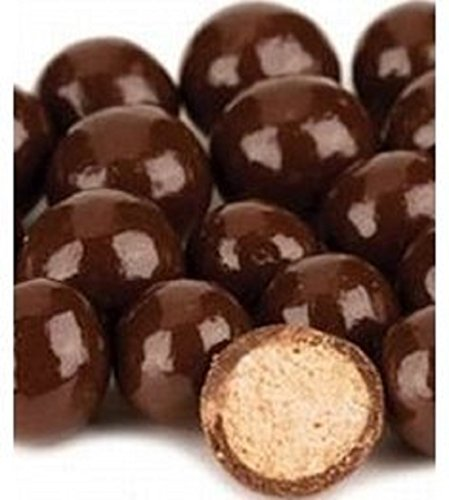 Necco Giant Malt Balls | Milk Chocolate Covered Malt Balls 1 Pound ( 16 OZ ) - Gourmet Chocolate Malt Balls
