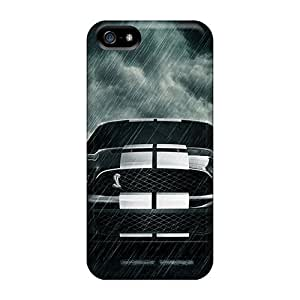 First-class Case Cover For Iphone 5/5s Dual Protection Cover Mustang