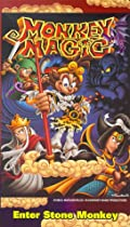 Monkey Magic: Enter Stone Monkey  (Epi. 1-3) [VHS]