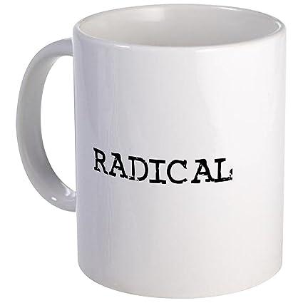 Amazon com: CafePress - Radical Mug - Unique Coffee Mug, Coffee Cup
