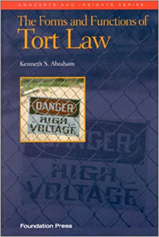 The forms and functions of tort law concepts insights kenneth s the forms and functions of tort law concepts insights kenneth s abraham 9781566624602 amazon books fandeluxe Image collections