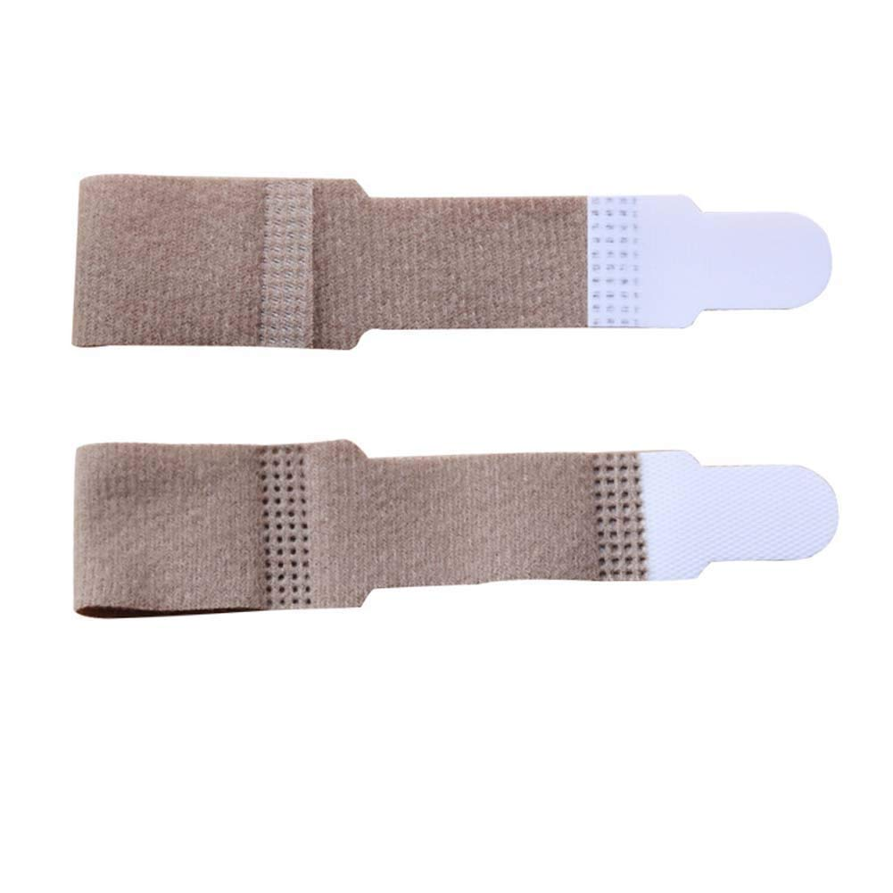 HXD Paquete de 10 separadores de juanetes Corrector de Dedos F/érula for Dedos Soporte Ajustable for Mangas de Dedos Envolturas de Dedos