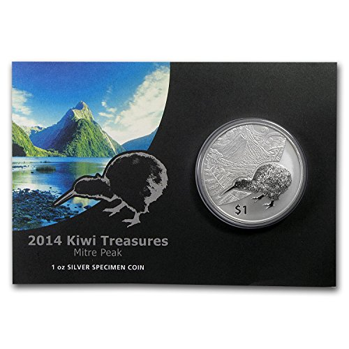 2014-nz-new-zealand-1-oz-silver-treasures-1-kiwi-specimen-1-oz-brilliant-uncirculated