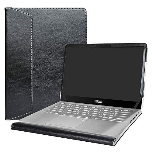 Alapmk Protective Case Cover for 14 Asus Q405UA & VivoBook S14 S410 S410UA S410UQ & VivoBook Flip 14 TP410UA TP410UR TP401CA TP401NA & ZenBook Flip 14 UX461UN UX461UA Series Laptop,Black