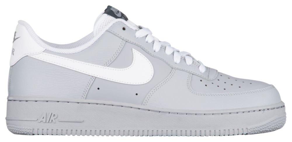 [ナイキ] Nike Air Force 1 Low - メンズ バスケット [並行輸入品] B071LQCDB6 US13.0 Wolf Grey/White/Dark Grey/Game Royal
