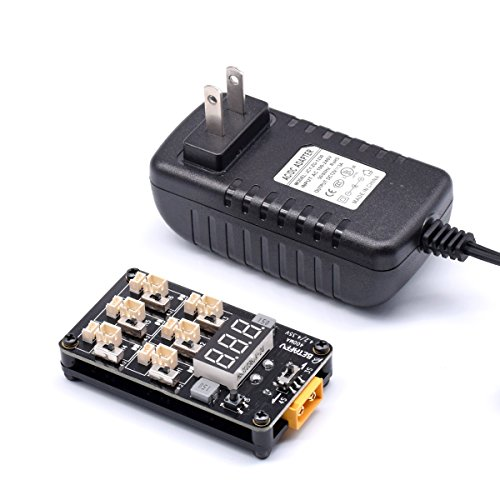 BETAFPV 1s Lipo LiHV Charger Board with XT60 12A 3V Battery Charger Adapter