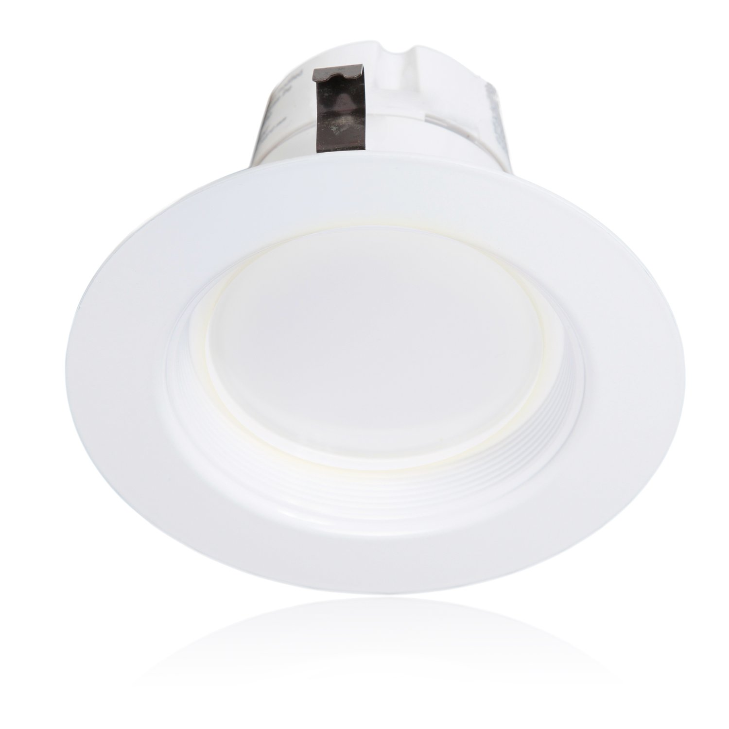 Pack of 4 MRL-41300NW-4 75 Watt Equivalent Straight E26 connection Cable 850 Lumens Energy Star 4-Inch 850 Lumens Maxxima Dimmable LED Retrofit Downlight 4000K Neutral White