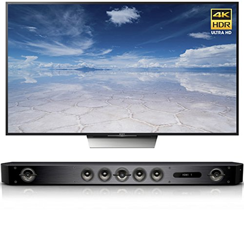 Sony X850D 85-Inch 4K HDR w/Android TV & Bar Speaker System w/Wi-Fi/Bluetooth -  XBR85X850D-HTST9