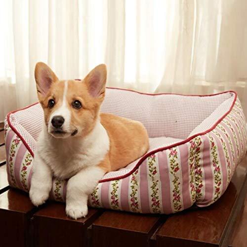 Cama para perros con memoria de espuma para perros Gato camada casa de gato mascota nido perro suministros caseta de perro perro pequeño en perritos casa de ...