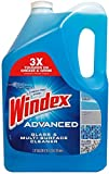 Windex Advanced Glass and Multipurpose Cleaner, 1.37 Gallon, 176 Fluid Ounce