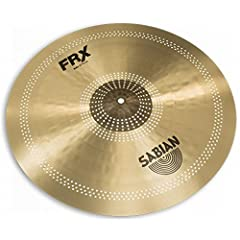 """The SABIAN 21"""" FRX Ride is a pro-level, B20 Bronze light ride that provides dark, crisp sticking with buttery-soft feel. SABIAN FRX (Frequency Reduced) cymbals are designed for playing environments where other cymbals have too much attack. Th..."""
