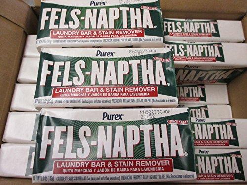 DIAL Fels-Naptha Soap (24) Bars - 1 Case