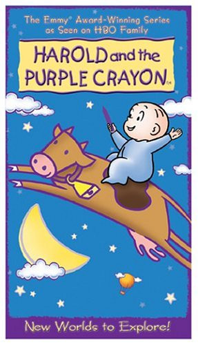 Amazon Com Harold The Purple Crayon New Worlds To Explore Vhs