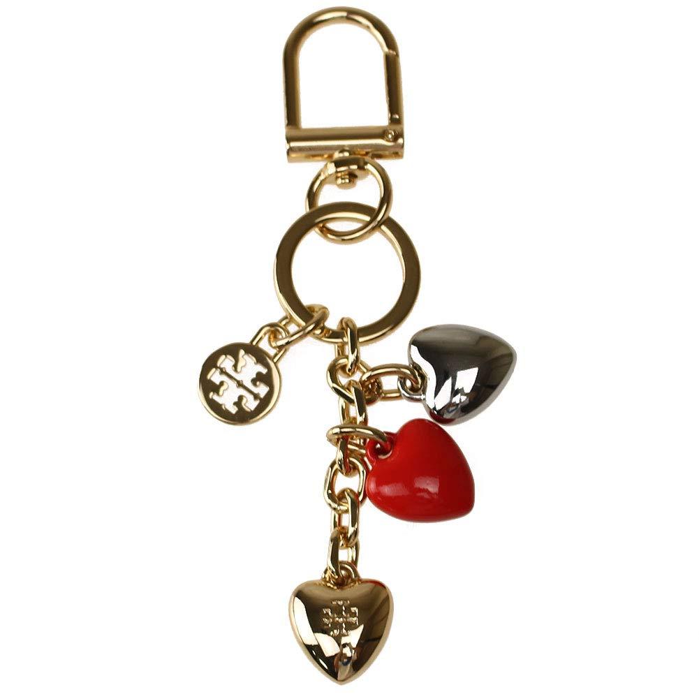 トリーバーチ TORY BURCH レディース キーケースキーリング 44402 layerd heart key fob [並行輸入品]   B07K3ZFZRT