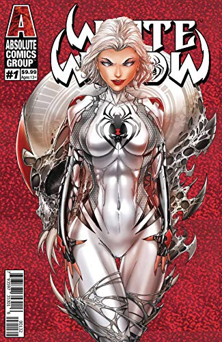 White Widow #1 Second Printing Cover C Prismatic Foil - Variant Foil
