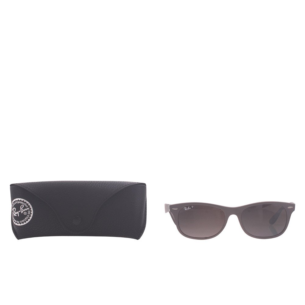 03a29f437 Ray-Ban ORB4207 6033T555 Polarized Square Sunglasses,Matte Brown,55 mm:  Amazon.in: Clothing & Accessories