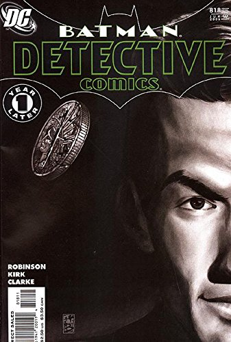 Detective Comics (1937 series) #818 818 Series 818 Series