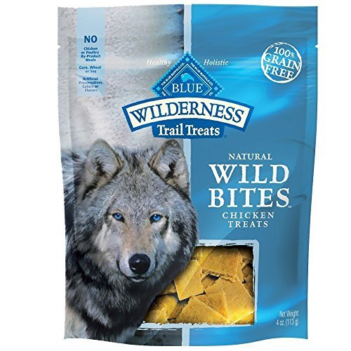 Blue Buffalo Wilderness Grain-Free Wild Bites Chicken Treats (2 PACK)