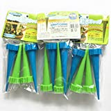 RSG 12Pcs/Lot Indoor Automatic Watering Irrigation Kits System Houseplant Spikes For Plant Potted Flower Energy Saving Environmental 3 sets Blue-Green