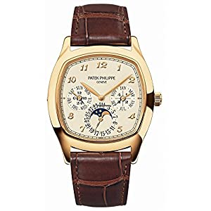 Patek Philippe Grand Complications Moonphase 37mm Yellow Gold Watch 5940J-001