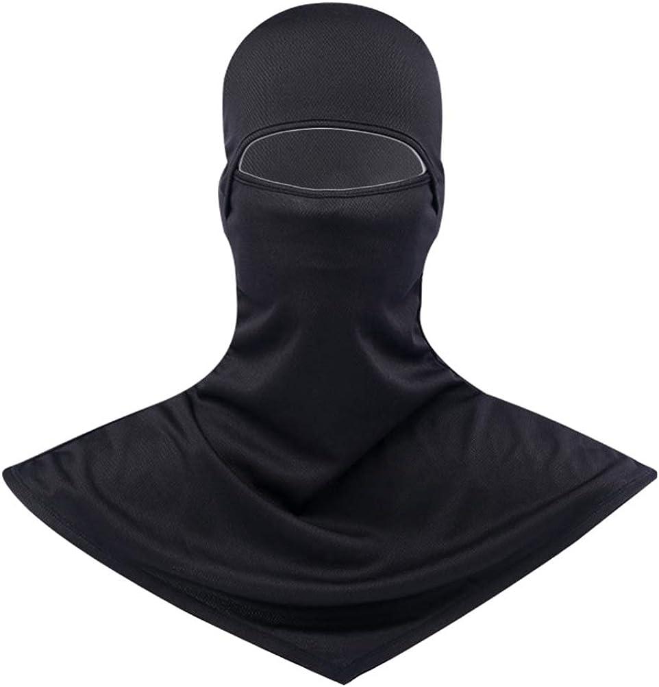 Protección Solar Unisex Máscara Facial Completa Gorra de Pesca a Prueba de Viento Ajustable Cubierta de Cuello Largo para Deportes Al Aire Libre