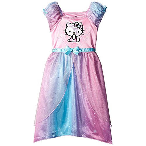Hello Kitty Big Girls' Dressy Gown, Pink, Small
