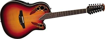 2758AX-NEB Elite Standard 12-string New England Burst: Amazon.es:  Instrumentos musicales