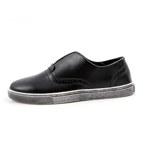 Zapatos casuales de verano/ Le Fu/Zapatos de conducción/ zapatos haba zapatos coreanos marea/Los zapatos de hombre perezoso del pedal-B Longitud del pie=26.8CM(10.6Inch) 44NMHDi
