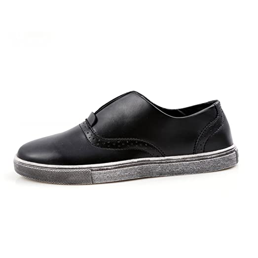 zapatos perezoso de los hombres/Costura establece el pie zapatos-A Longitud del pie=24.3CM(9.6Inch) 5EmU1