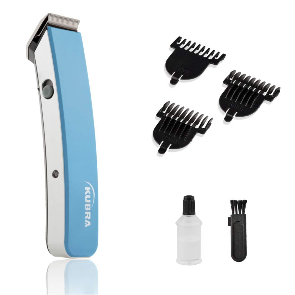 Kubra KB-1045 Rechargeable Beard and Hair Trimmer For Men (Blue)