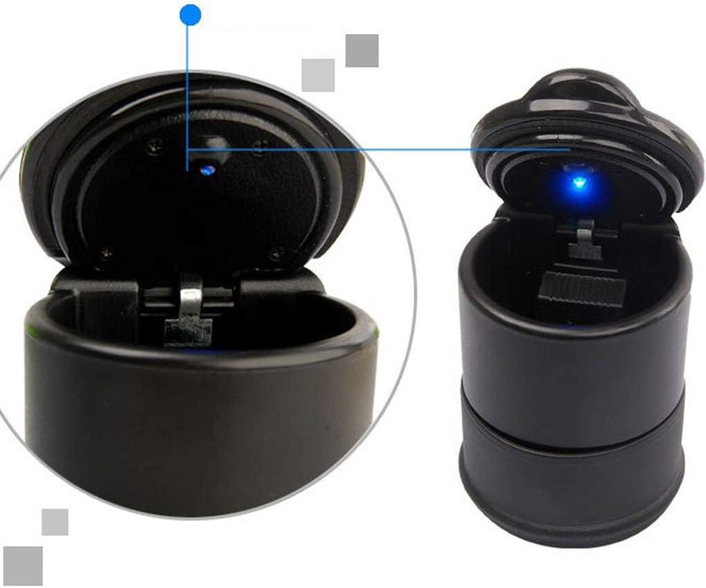 BeIilan Cigarette Portable LED Auto Camion Voiture Universel fum/ée Cendrier sans fum/ée Porte-gobelet Cendrier