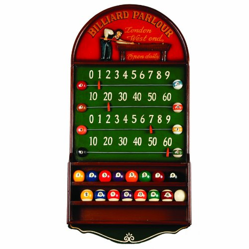 Image of Billiards & Pool RAM Gameroom Products Billiard Parlour Scoreboard Counter and Ball Holder