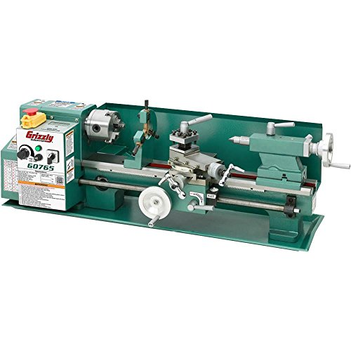 7'' x 14'' Variable-Speed Benchtop Lathe by Grizzly Industrial, Inc.