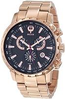 Brillier Men's 16-01 Endurer Rose Gold Chronograph Swiss Quartz Watch from Brillier