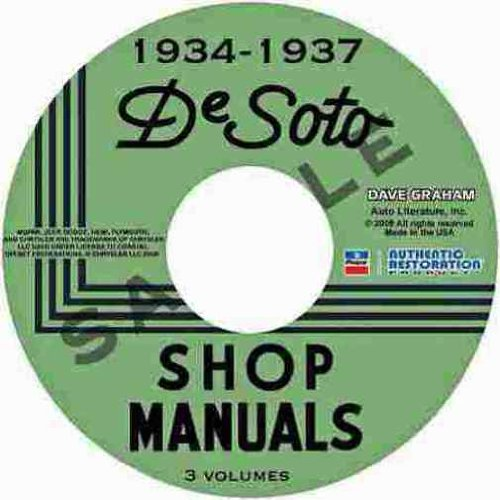 S2 Suspension Light (1934 1935 1936 1937 DeSOTO REPAIR SHOP & SERVICE MANUAL & BODY MANUAL CD INCLUDES SE, SF, S1, S2, S3, Airstream and Airflow 34 35 36 37)