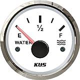 "KUS Waterproof Water Level Gauge Meter Indicator 0-190ohm 52MM(2"")"