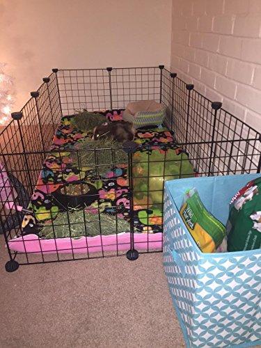 Jyyg Small Pet Pen Bunny Cage Dogs Playpen Indoor Out Door