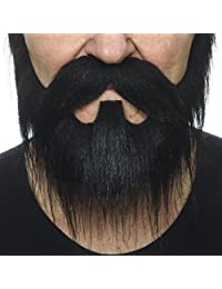 High quality Nomad fake beard and mustache, self adhesive