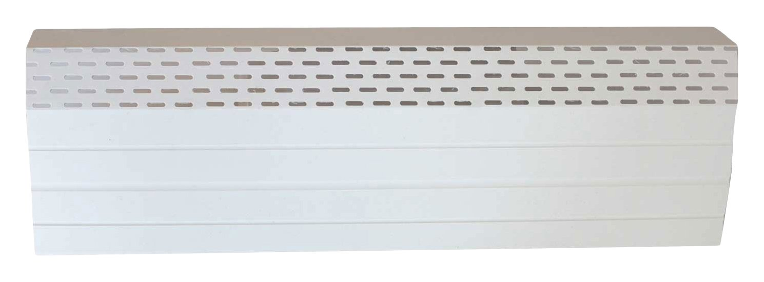 Neat Heat Baseboard Covers FC 30/07-06 BW Bright Front Cover, 72'', White