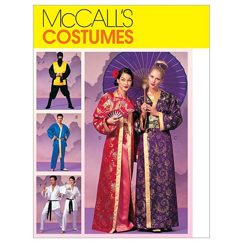 McCall's Patterns M2940 Misses', Men's and Teen Boys' Robe Costumes, Size Y (SML-MED)