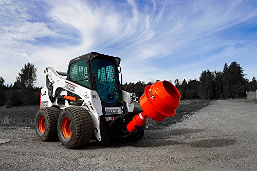 Skid Steer Flip Mount Auger Attachment with Mixer Bowl - ET-2500 Drive for Skid Steer Loaders with 7-17 GPM ()