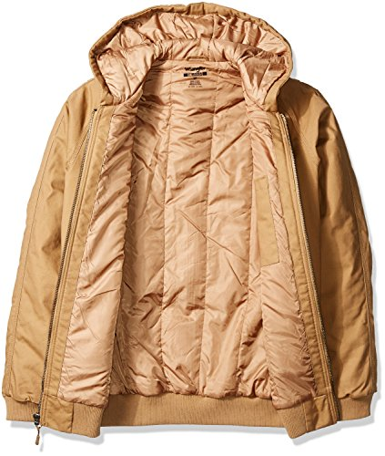 322b723e Amazon.com: Wrangler RIGGS WORKWEAR Men's Big and Tall Utility Hooded Jacket:  Clothing