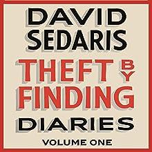 Theft by Finding: Diaries: Volume One Audiobook by David Sedaris Narrated by David Sedaris