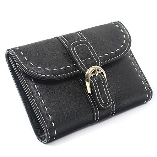 4271a030b5 Retro Lunga Stati Giappone Clothes Gli Multifunzionale Wallet L'europa  Studenti Corea Colore Uniti Pelle Nero Lilac Portafoglio ...