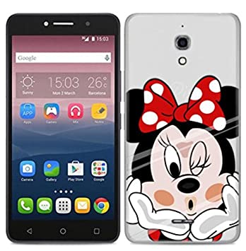 PREVOA Funda para Alcatel Pixi 4 4G Version 6,0 Pulgada: Amazon.es ...