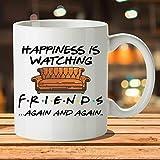 Coffee Mug Printing Tv Shows Friends Mugs Travel Beer Cup Porcelain Coffee Mug Tea Cup with Stirring Spoon 11oz Funny Mugs Te