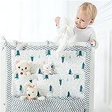 Tmrow 1pc Sleeping Baby Nursery Organizer for Clothing Diapers Toys Hanging Storage Bag