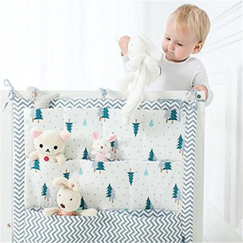 Tmrow 1pc Sleeping Baby Nursery Organizer for Clothing Diapers Toys Hanging Storage Bag by Tmrow