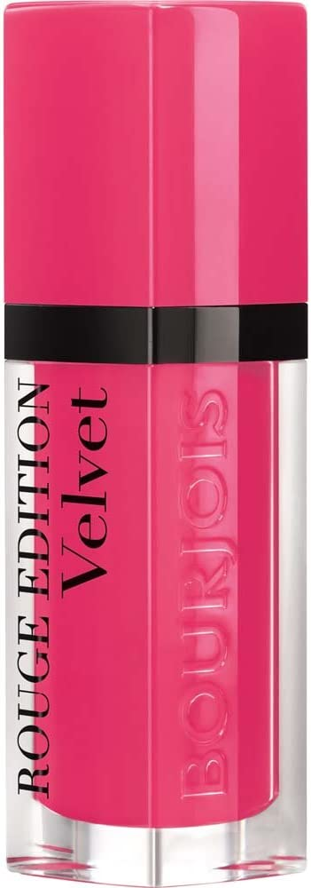 Bourjois Rouge Edition Velvet Liquid Lipstick 34 Belle Amourose Pinks, 6.7ml,Coty,29101273034
