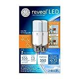 GE Lighting 36455 6 Watts Reveal LED Bright Stik Light Bulb with Medium
